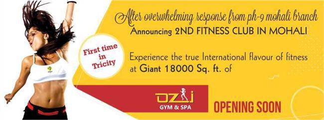 Fitness gym in Mohali