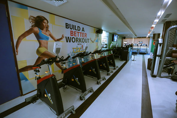 Ozi Gym & Spa : Sector 22 Chandigarh
