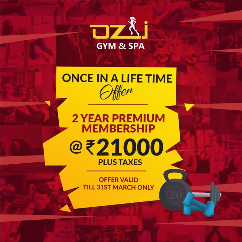 Offer valid for OZI Phase 8, Phase 9 and 37 (Chd.) branch only